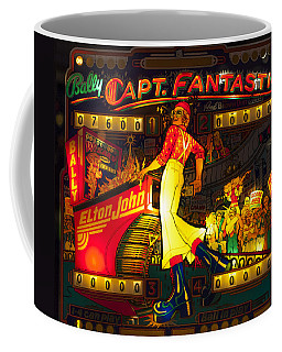 Pinball Machine Capt. Fantastic Coffee Mug