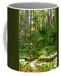 Pine And Palmetto Woods Filtered Coffee Mug
