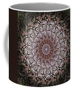 Pine Bark Mandala #1 Coffee Mug