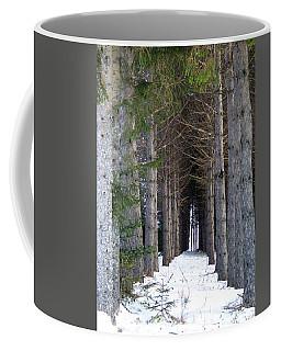 Pine Cathedral Coffee Mug