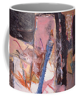 Pink And Black Coffee Mug