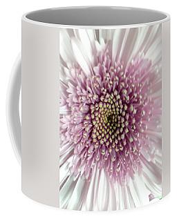 Pink And White Chrysanthemum Coffee Mug