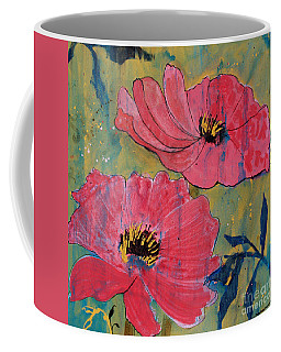 Pink Blossoms Coffee Mug by Robin Maria Pedrero