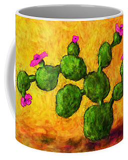 Beaver Tail In Bloom Coffee Mug
