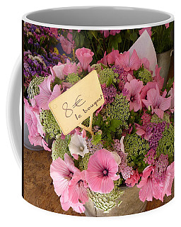 Pink Bouquet Coffee Mug by Carla Parris