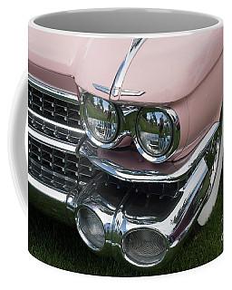 Coffee Mug featuring the photograph Pink Caddy by Gunter Nezhoda