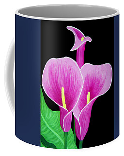 Pink Calla Lillies 2 Coffee Mug