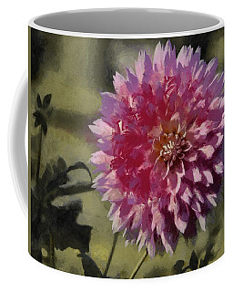 Pink Dahlia Coffee Mug by Jeff Kolker