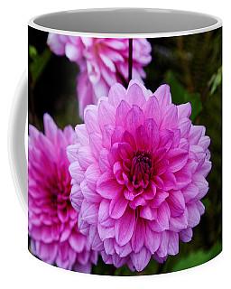 Pink Dahlias Coffee Mug