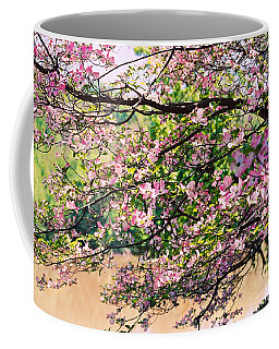 Pink Dogwood I Coffee Mug