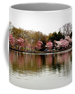 Pink Echoes Coffee Mug by Patti Whitten