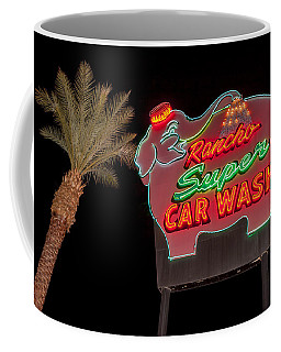 Pink Elephant Car Wash 36 X 24 Coffee Mug