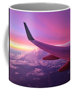 Pink Flight Coffee Mug