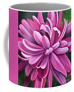 Pink Flower Fluff Coffee Mug