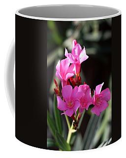 Coffee Mug featuring the photograph Pink Flower  by Ramabhadran Thirupattur