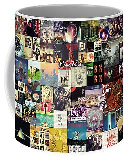 Pink Floyd Collage I Coffee Mug