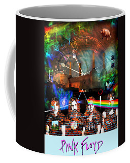 Pink Floyd Collage Coffee Mug