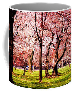 Pink Forest Coffee Mug by Patti Whitten
