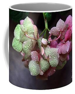 Pink Green And Rain Coffee Mug