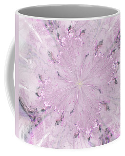 Coffee Mug featuring the digital art Pink Hibiscus by Victoria Harrington