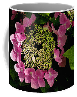 Pink Hydrangea Coffee Mug by James C Thomas