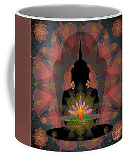 Pink Lotus Buddha Coffee Mug