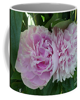 Pink Peonies 2 Coffee Mug by HEVi FineArt