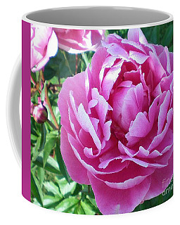 Coffee Mug featuring the photograph Pink Peony by Barbara Griffin
