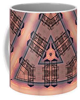 Pink Pier Kaleidoscope One Coffee Mug