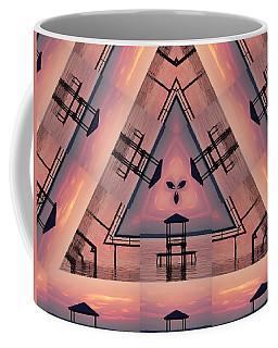 Pink Pier Kaleidoscope Two  Coffee Mug