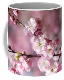 Pink Plum Branch 1 Coffee Mug