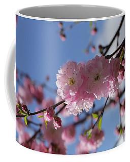 Pink Plum On Sky 2 Coffee Mug