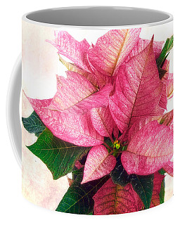 Pink Poinsettia Coffee Mug