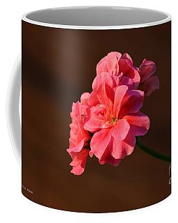 Pink Coffee Mug by Ramona Matei