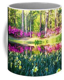 Pink Reflections By Jan Marvin Coffee Mug