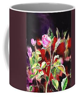 Pink Rose Bloom Coffee Mug