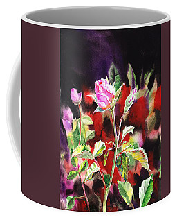Pink Rose Bloom Coffee Mug