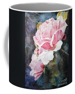Pink Rose Caroline Coffee Mug