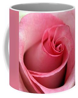Pink Rose Coffee Mug by Joseph Skompski