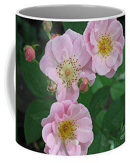 Pink Roses Coffee Mug by HEVi FineArt