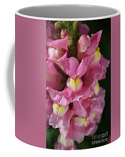 Pink Snapdragon Flowers Coffee Mug by Joy Watson