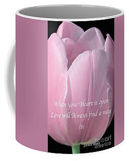 Pink Spring Tulip Coffee Mug