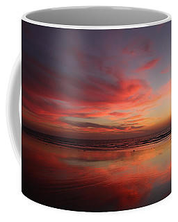 Ocean Sunset Reflected  Coffee Mug