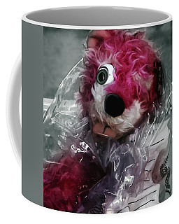 Pink Teddy Bear In Evidence Bag @ Tv Serie Breaking Bad Coffee Mug