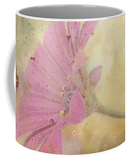 Pink Textured Gazania Coffee Mug