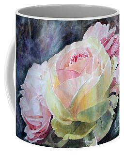 Pink Yellow Rose Angela Coffee Mug