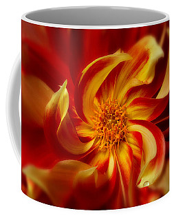 Coffee Mug featuring the photograph Pinwheel by Mary Jo Allen