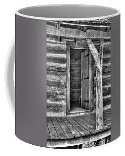 Pioneer Cabin Door Coffee Mug