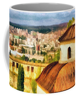 Pious Witness To The Passage Of Time Coffee Mug