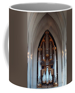 Pipe Organ Coffee Mug by Kay Gilley